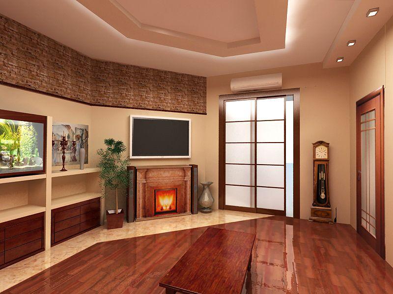 Маленькой гостиной в квартире