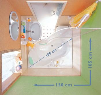 Ванной комнаты дизайн интерьер