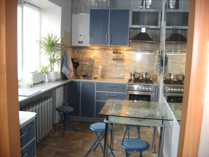 интерьер маленькой кухни 2 2