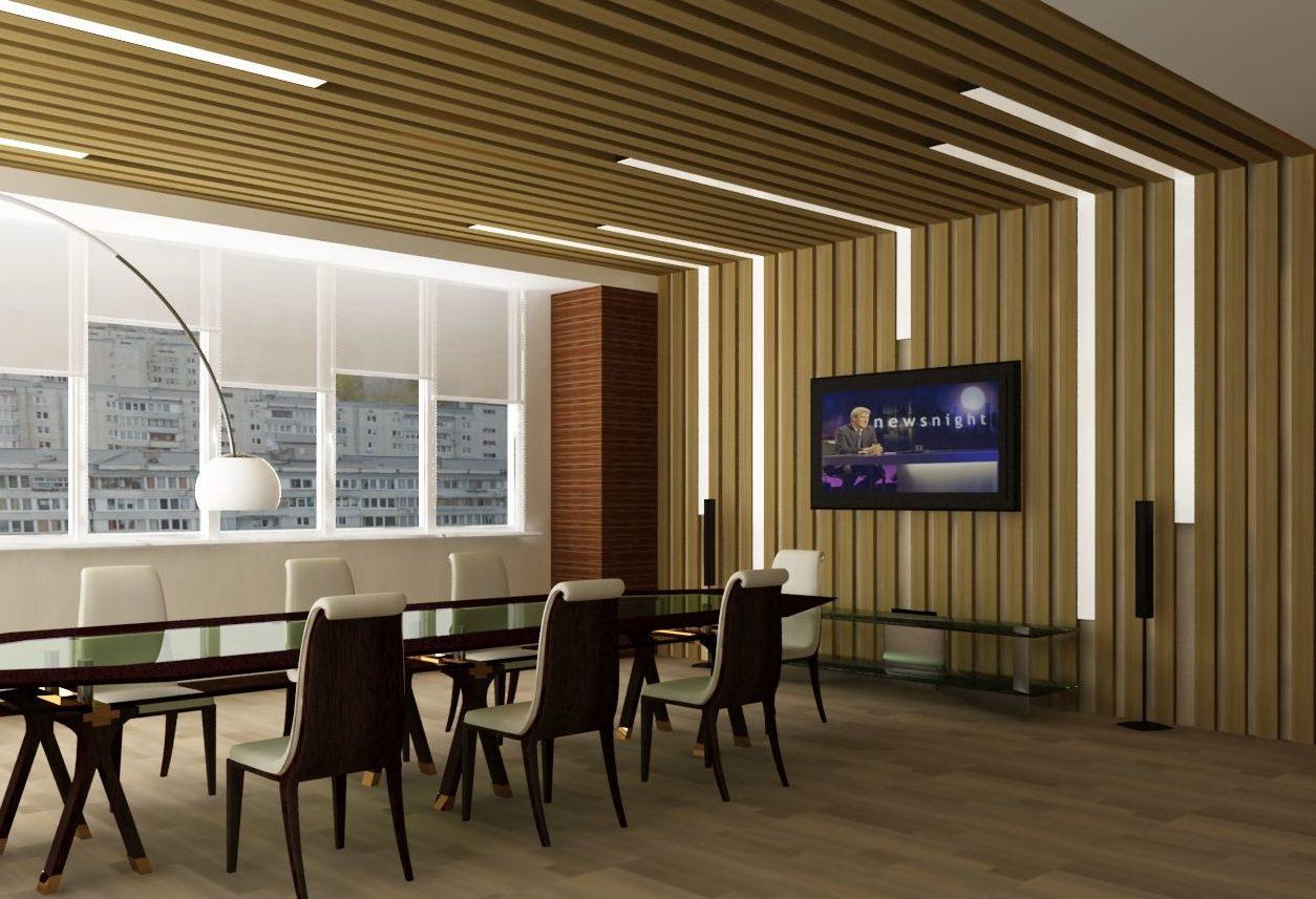 Интерьер офисного помещения должен способствовать работе и проведению встреч