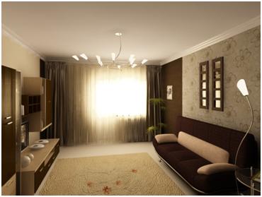 Дизайн комнаты обои