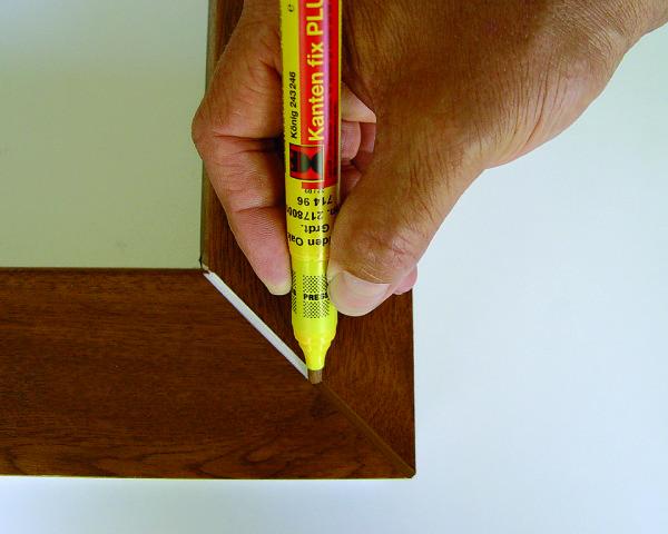 Использование маркера для маскировки белого основания