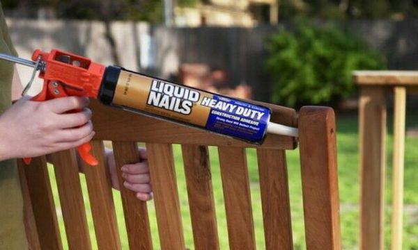 Использовать жидкие гвозди можно как внутри, так и снаружи помещений