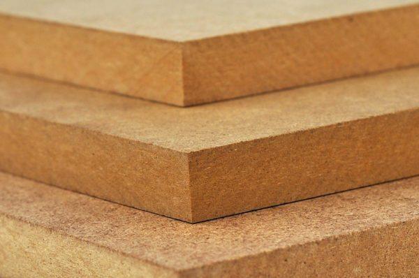 Из таких плит повышенной плотности делают основу для панелей