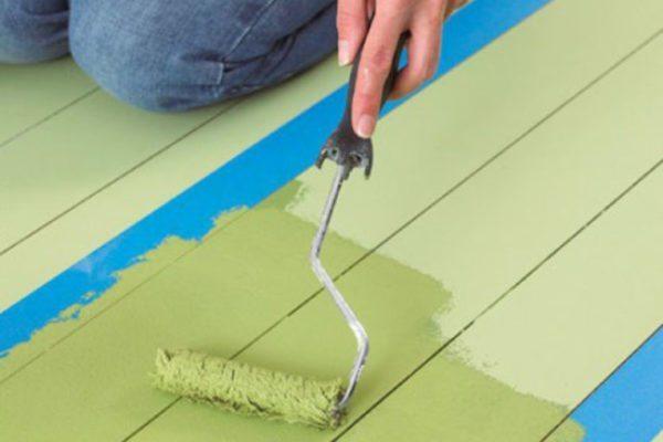 Износоустойчивые марки латексного лакокрасочного покрытия можно использовать для покраски полов