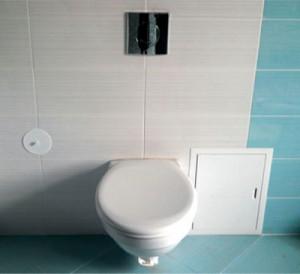 Как отделать туалет