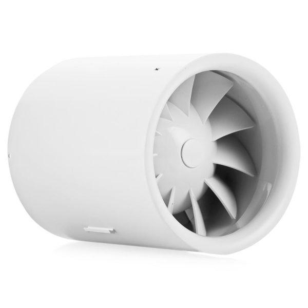 Канальный вентилятор в вытяжном канале вентиляции обеспечит ее постоянную производительность.
