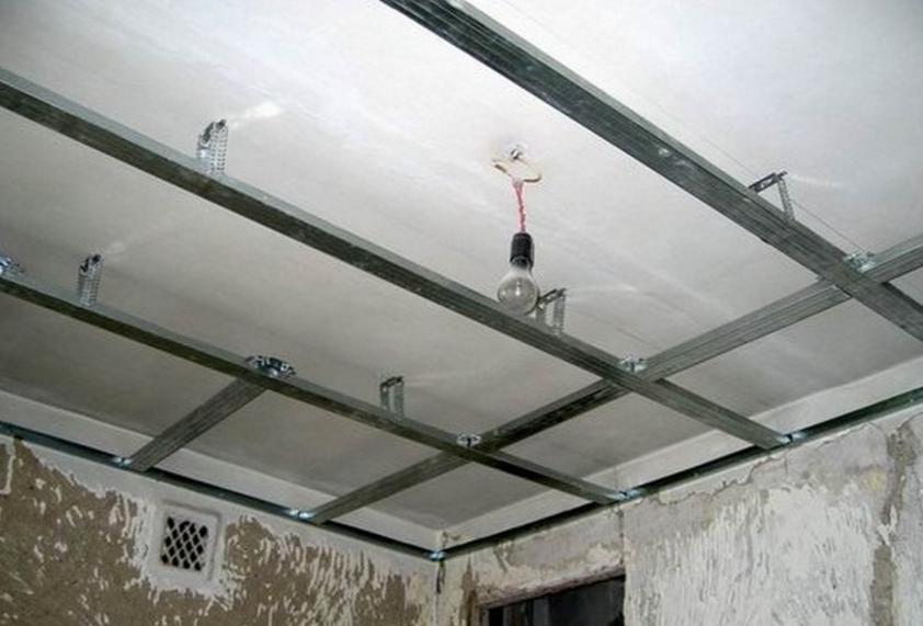 Как правильно сделать подвесной потолок 471