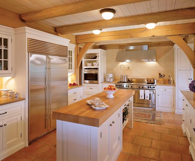 Цветового оформления интерьера кухни