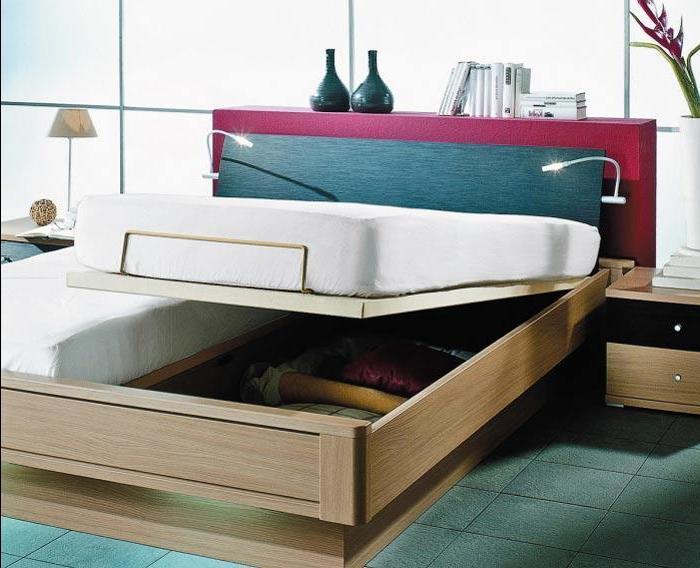 кровать с нишей для белья
