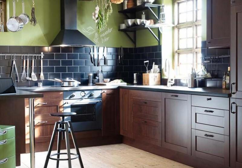Интерьеры кухни столовой икеа