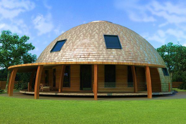 Купольный дом — новинка в домостроении, быстро набирающая популярность