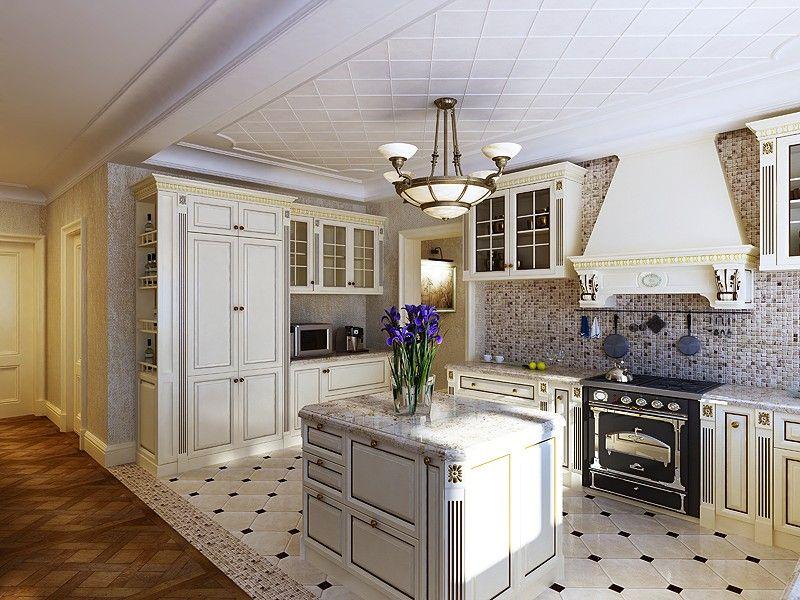 Кухни классика дизайн