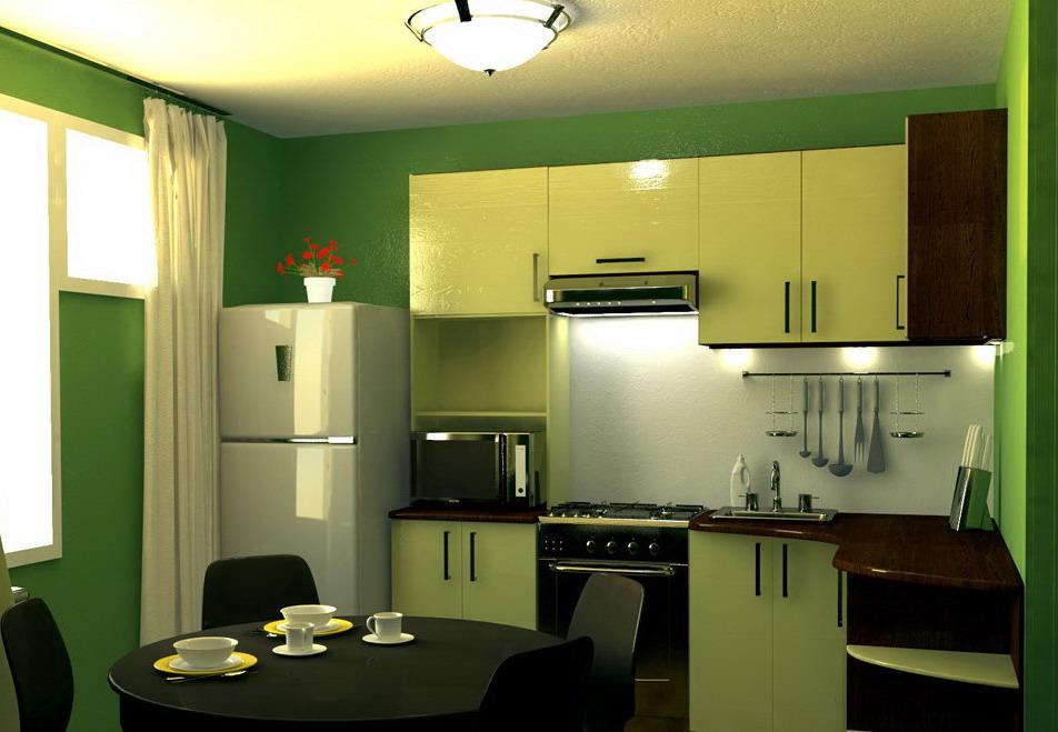 дизайн кухни 7 м фото