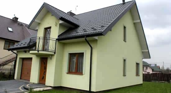 Латексные краски можно использовать для покраски фасадов
