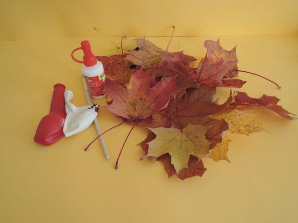 Листья, шарик, кисточка и клей: цена такого реквизита ничтожно мала