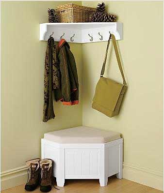 Угловая мебель существенно сэкономит