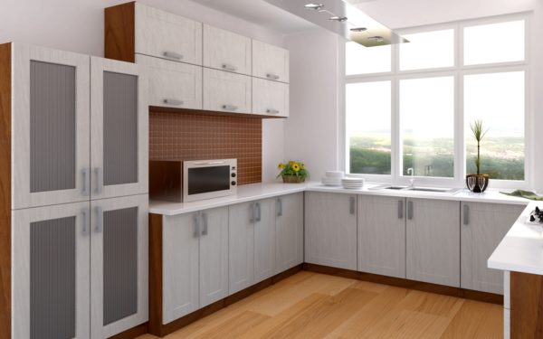 Мебель для кухни с угловым размещением — одна из самых удобных