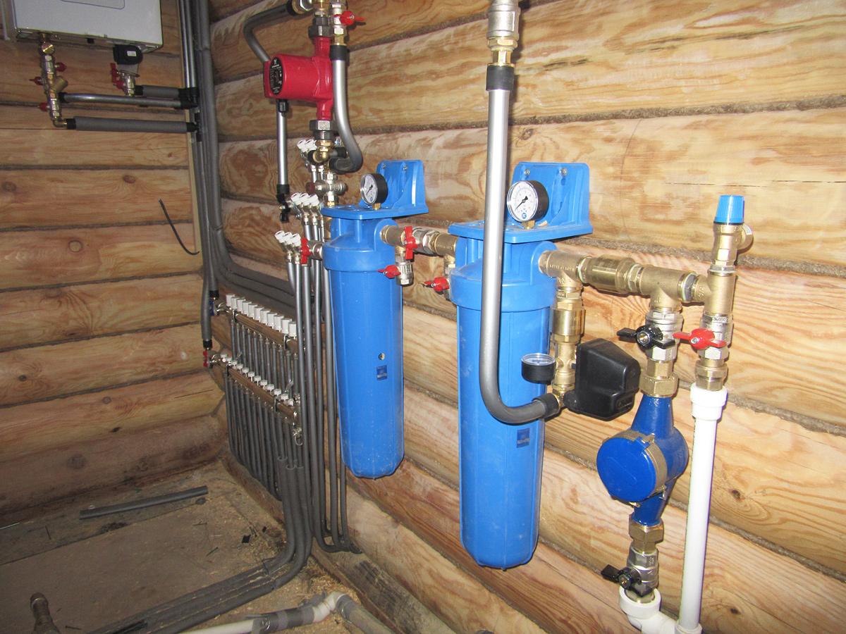 Центральное водоснабжение дома своими руками
