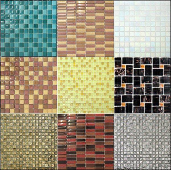 Мозаика — это маленькие плиточки разной формы, собранные в модули на сетке.