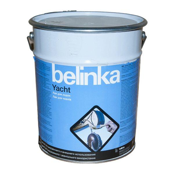 На фото качественный алкидный яхтовый лак от Belinka