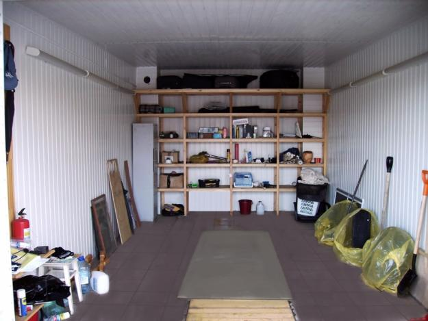 Фото обустройство в гараже своими руками