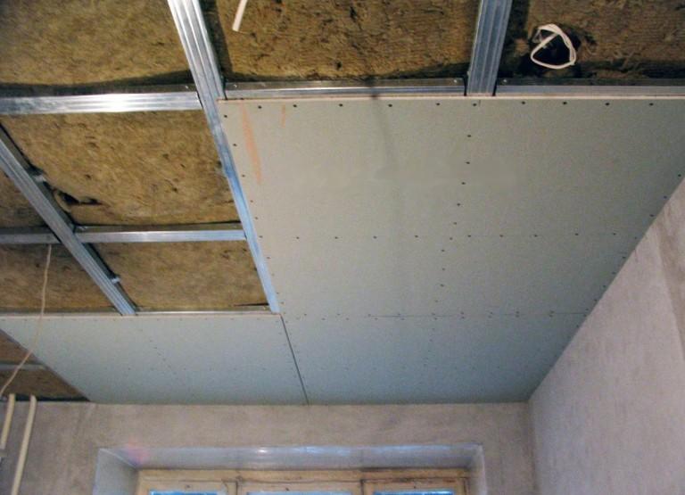 Подвесные потолки в гараже своими руками