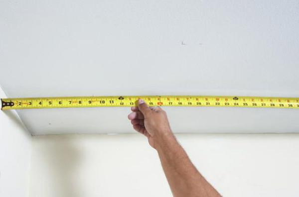 На измерение уйдет пару минут, зато вы будете знать размеры с точностью до сантиметра