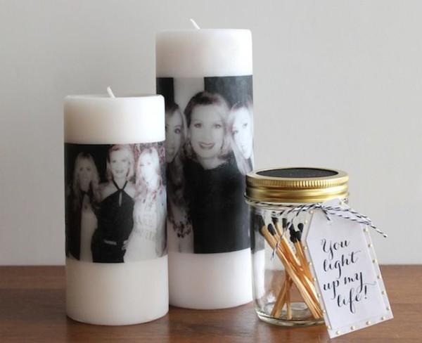 Наличие фотографии на свечке гарантирует ей оригинальность