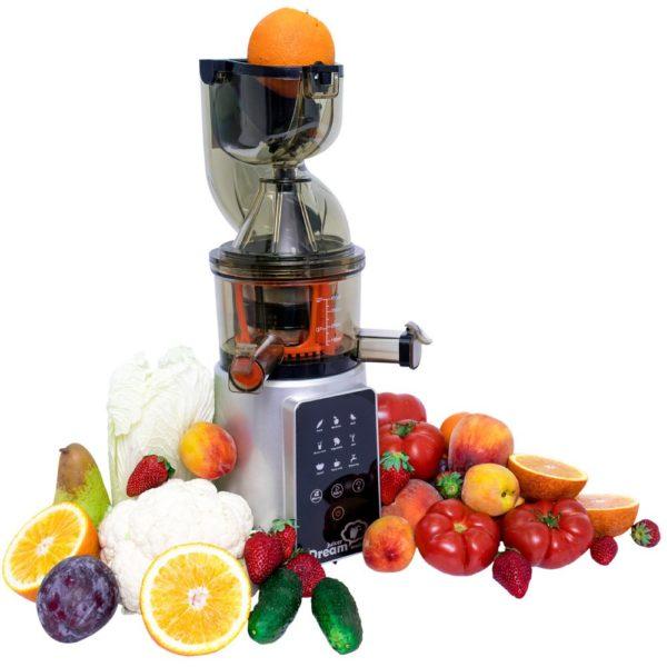 Наличие шнековой соковыжималки дома в значительной мере расширяет овощное и фруктовое меню