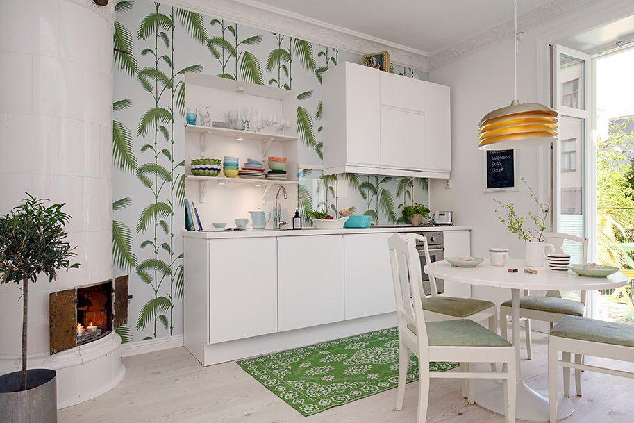 Кухня дизайн недорогого интерьера
