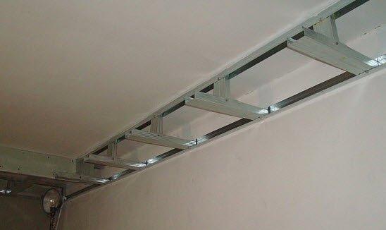 Светодиодная лента для потолка своими руками