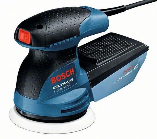 Образец модели «BOSCH GEX 125-1 AE Professional»
