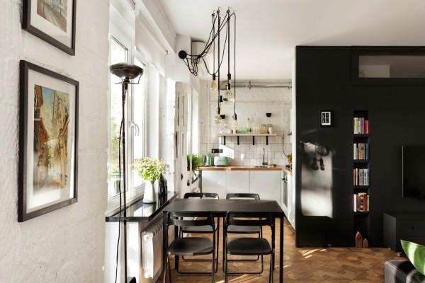 Общий вид на кухню