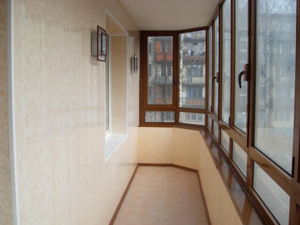 Балкон лоджия отделка своими руками