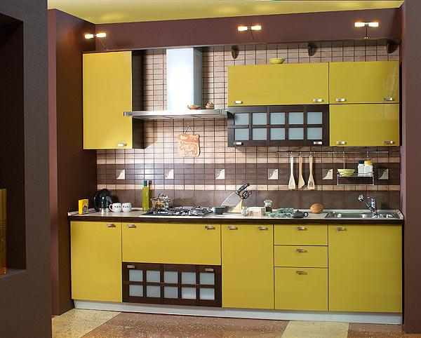 При выборе дизайна кухни небольшой