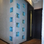 Оформление стен в коридоре