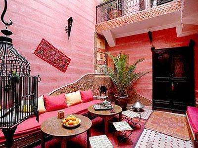 оформление в марокканском стиле