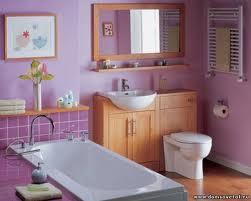Окрашенная ванная комната