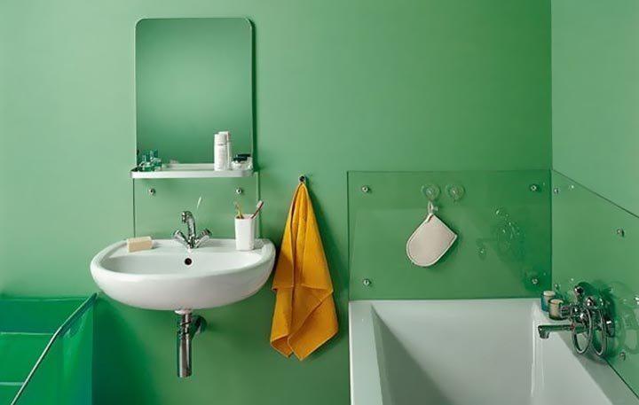 Дизайн стен в ванной своими руками фото