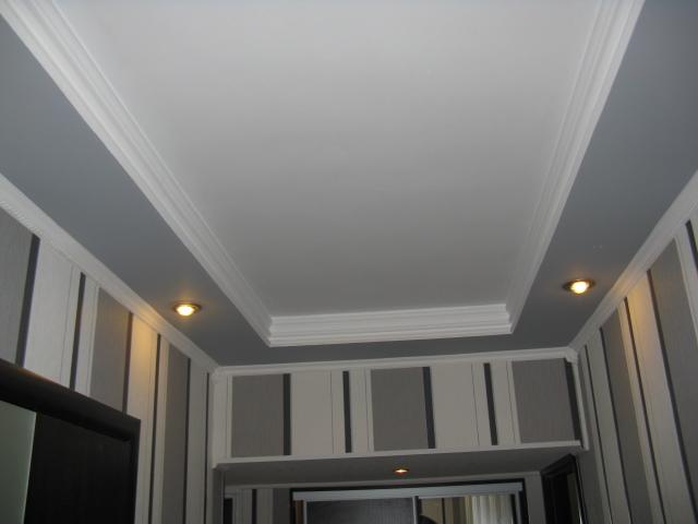 Отделка потолок из гипсокартона своими руками