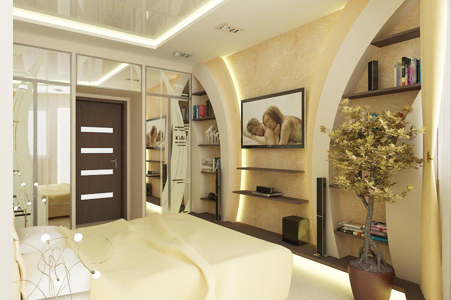 Мебель из гипсокартона  интерьера