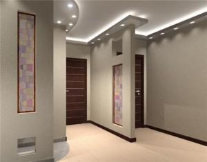 Ремонт коридора в панельном доме идеи
