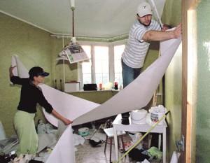 Отделка квартиры своими руками