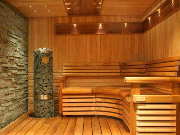 Отделка в бане должна способствовать сохранению тепла