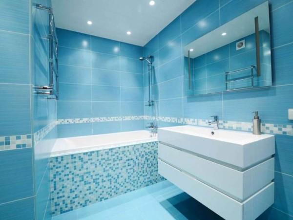 Отделочные материалы в ванной комнате должны гармонировать