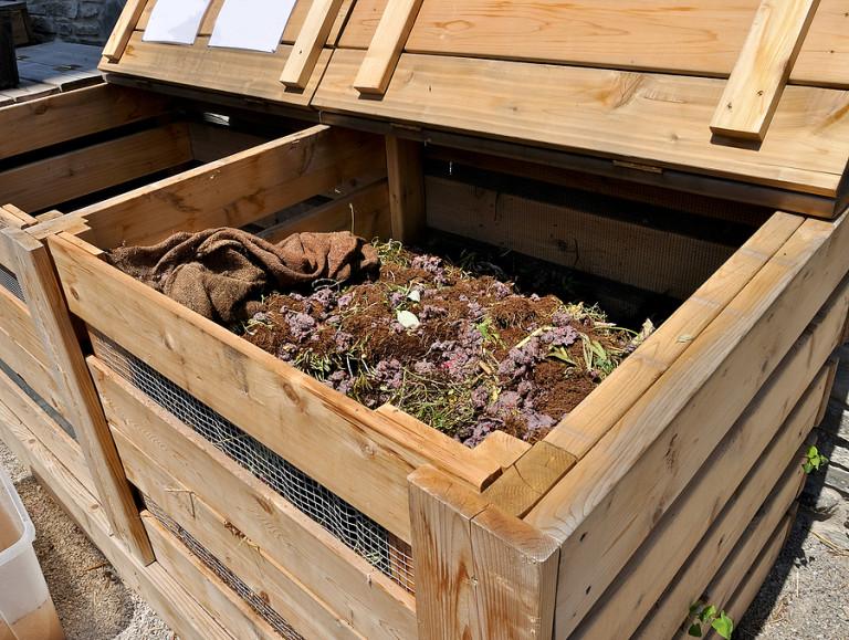 Компостный ящик на даче своими руками