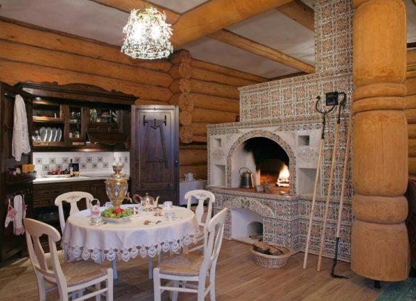 Печь может быть не только главным декоративным элементом интерьера, но и отлично функционирующим способом обогрева