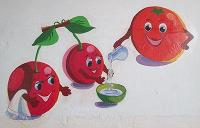 Поучения на стенах в такой форме быстрее запомнятся детям