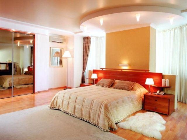 Пример дизайна большой спальни